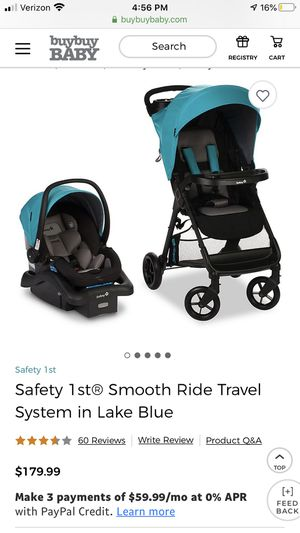 Safety 1st car seat and stroller for Sale in Johnson City, TN