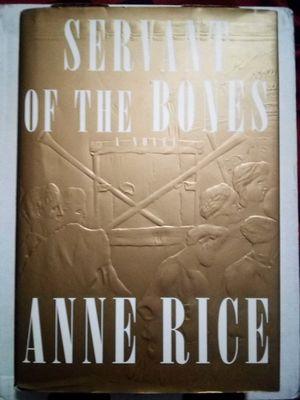 Anne Rice Servant of the Bones for Sale in Virginia Beach, VA