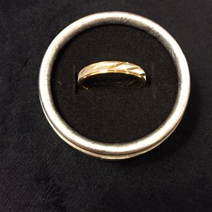 18K Gold plates Unisex Engagement Ring - Code A11 for Sale in Houston, TX