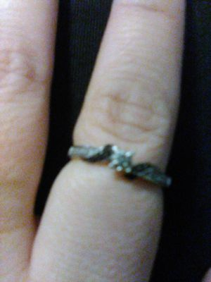 Black and white diamond ring for Sale in St. Petersburg, FL
