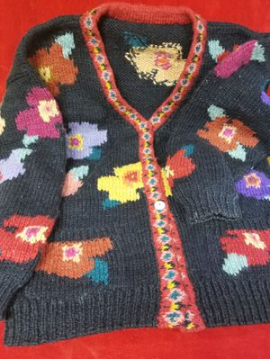 Hand knitted sweater-L for Sale in Herndon, VA