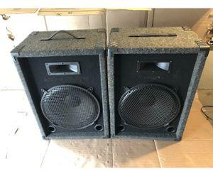 Huge Auditorium DJ Monitor Speakers!!! for Sale in Garden Grove, CA