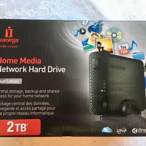 Network Attached Storage Hard Drive Home Network Media Drive 2TB Connects to Your Router File Sharing for Sale in Los Angeles, CA