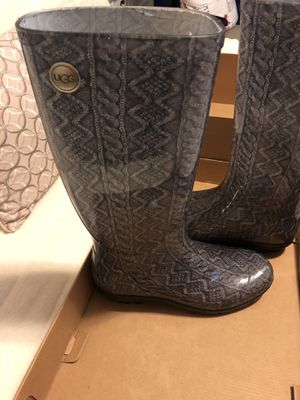 Ugg rain boots for Sale in Macedonia, OH