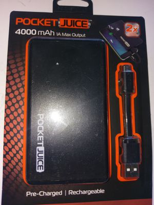 Pocket juice 4000mah for Sale in Humble, TX