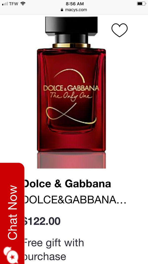Authentic Dolce & GABBANA the only one 100 ml
