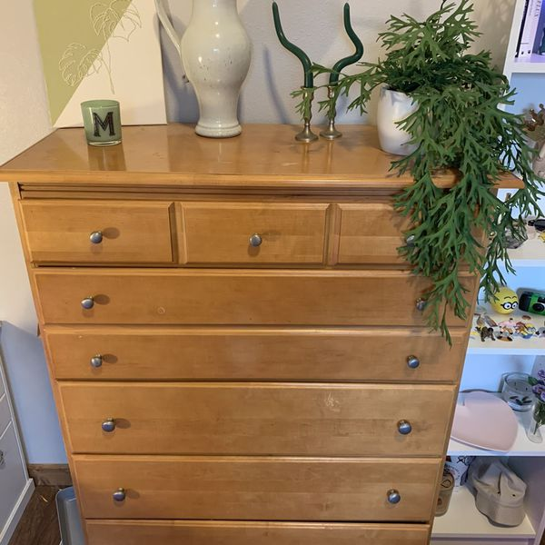Dresser 52 inches tall, 37 inches wide 18 inches deep