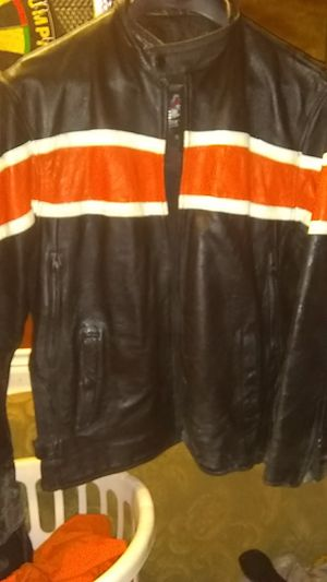 Jim leather company leather jacket for Sale in Kathleen, GA