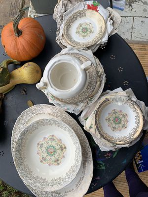 Vintage Gold China for Sale in Portland, OR