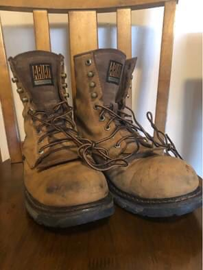 Work boots size 9.5 for Sale in Hopkinsville, KY