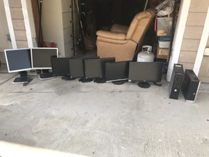 Six Monitors & 2 Computers for Sale in San Diego, CA