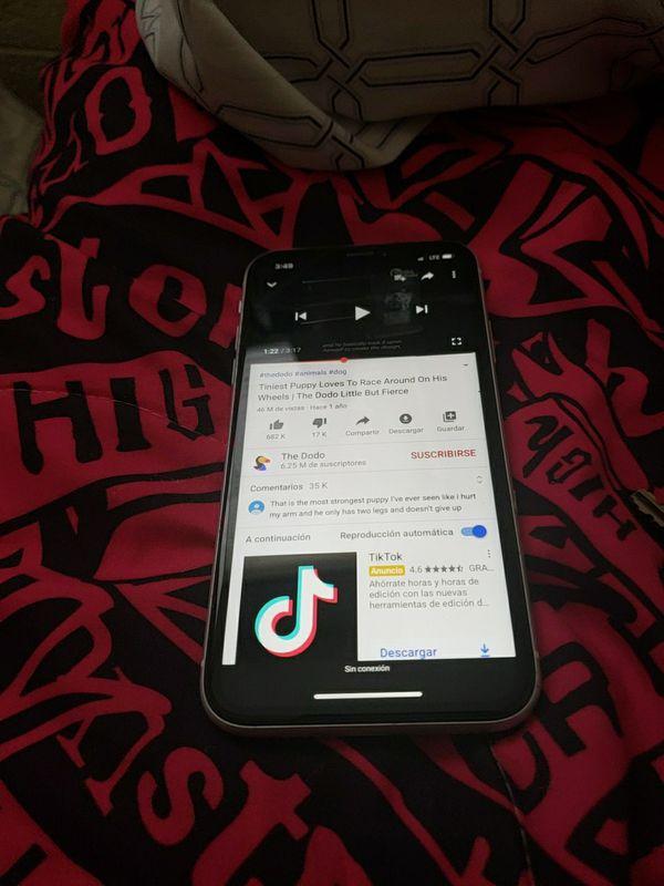 Vendo iphone XR 10 para todas las compañías y para mexico