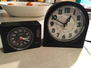 2 BOTH LOOKS OLD clock for sale for Sale in Vancouver, WA