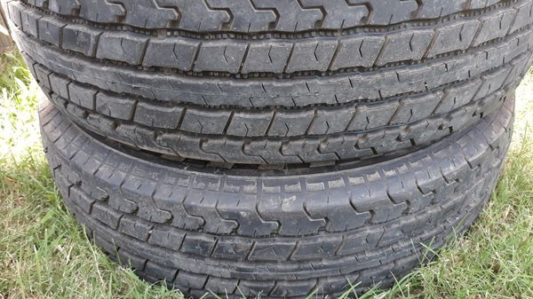 Tires 205/75/15 for trailer