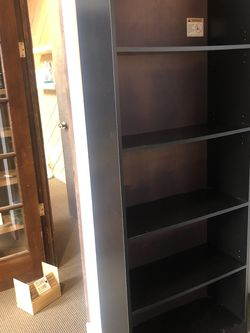 Black Bookshelves for Sale in Seattle,  WA