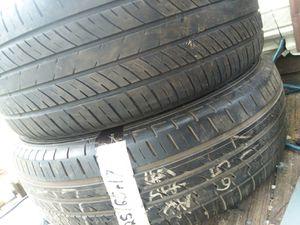 Size 17 Thunderer Mach I USED tires. NO RIM for Sale in Hartford, AL