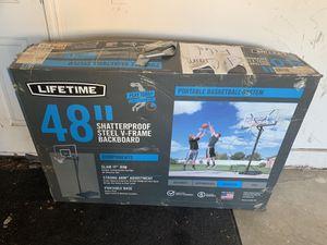 """48"""" Basketball hoop for Sale in Riverside, CA"""
