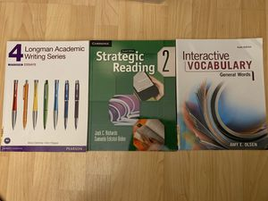 ESL books Longman Writing Reading Vocabulary for Sale in Buffalo Grove, IL