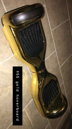 Gold Hoverboard for Sale in Webberville, TX