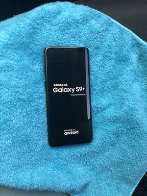 Samsung Galaxy s9+ unlocked for any company T-Mobile metro cricket AT&T Verizon sprint boost mobile Mexico overseas for Sale in Glendale, AZ