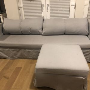 A Three Sitter Couch With Chase for Sale in Portland, OR