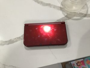 Nintendo 3ds xl red for Sale in Parkland, FL