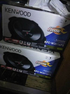 Car audio Brand new still in the box system never been used for Sale in Hyattsville, MD