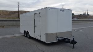 New 8.5x20 Enclosed Look Trailer * 12 inches extra height * for Sale in Redlands, CA