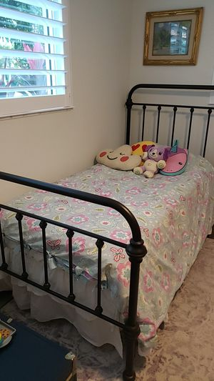 AllModern by Wayfair Twin Bed and Mattresses for Sale in Fort Lauderdale, FL