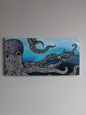 Canvas Painting Octopus for Sale in Nashville, TN