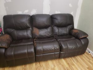 Free couch and I give you $25 cash for Sale in Ripon, CA