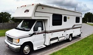 Nice comfortable sofa that 1994 Callista Cove by Carriage Class C 30ft for Sale in Orlando, FL