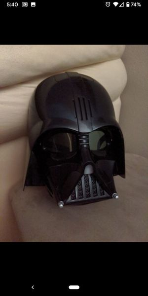 Star wars mask with voice changer for Sale in Pinellas Park, FL