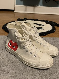 CDG Converse White for Sale in River Forest,  IL