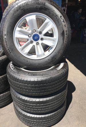 Rims and Michelin tires! Sizes 245/70/17 for Sale in La Presa, CA