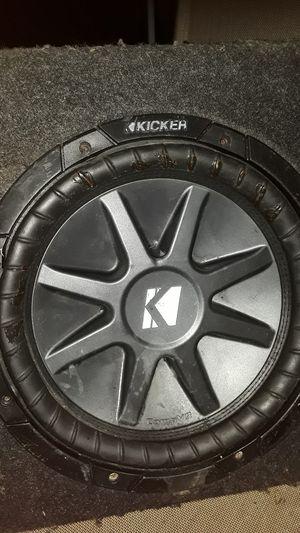 10' Kicker SUB speaker/w Box for Sale in Fort Myers, FL