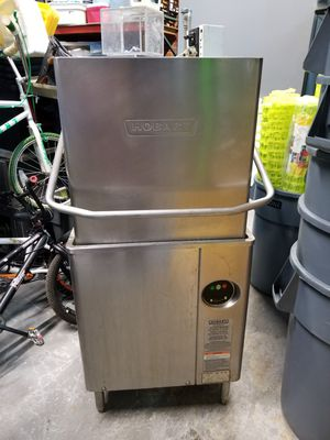 HOBART AM15 HIGH TEMP COMMERCIAL DISHWASHER for Sale in Chicago, IL