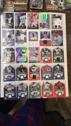 Sports cards game used and autos for Sale in Kirkland, WA