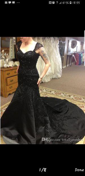 DHGate Black beaded prom/formal dress for Sale in El Cajon, CA