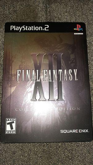 Final Fantasy XII Collector's Edition (PS2) for Sale in San Antonio, TX