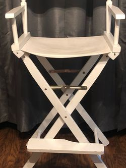 White Director's Chair for Sale in Whittier,  CA