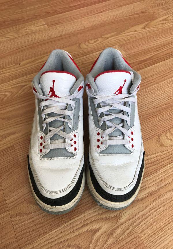 Air Jordan 3, size 10