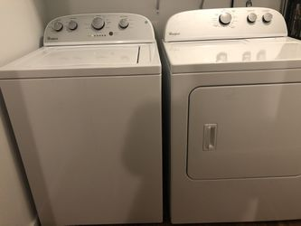 Whirlpool Washer And Dryer for Sale in Deer Park, WA