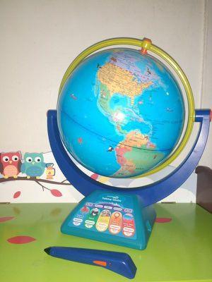 Educational Insights Geosafari Jr. Talking Globe Featuring Bindi Irwin Learning Toy Used like new for Sale in Everett, MA