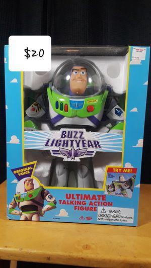 Original Buzz Lightyear talking action figure for Sale in Montebello, CA