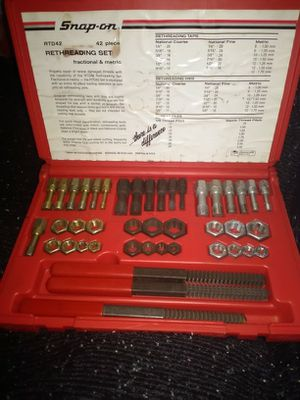 Snap-on Rethreading Tap & Die Set for Sale in Portland, OR
