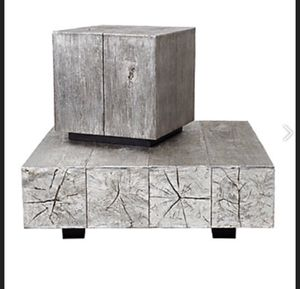Silverleaf timber coffee table set for Sale in Chicago, IL