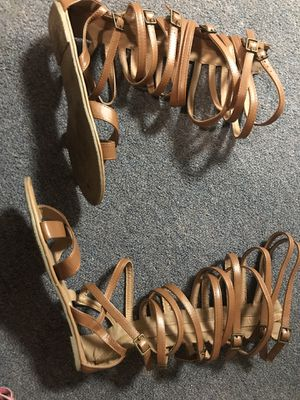 Wild diva brown flat shoes for Sale in Scottsdale, AZ