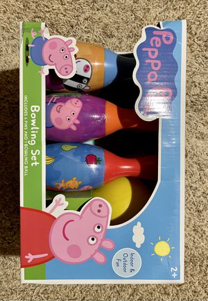 Peps Pig Bowling Set for Sale in Allen, TX