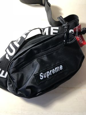 >> New Black Supreme Waist Bag Fanny Pack << for Sale in Costa Mesa, CA